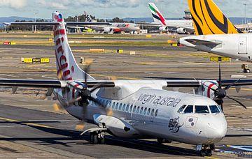 Virgin Australia ATR 72 am Flughafen Sydney von hugo veldmeijer