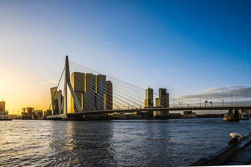 Rotterdam Skyline in the morning