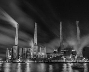 De energiecentrale - Volkswagen Wolfsburg van Marc-Sven Kirsch