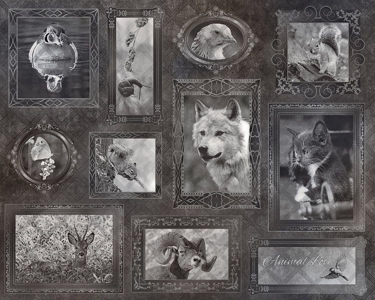 Vintage Dierenliefde van Christa Thieme-Krus