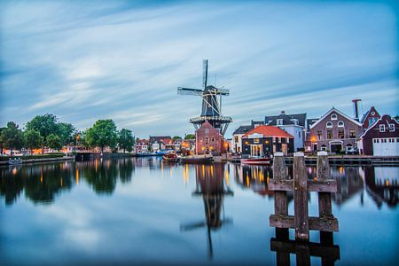 Zonsondergang in Haarlem 03