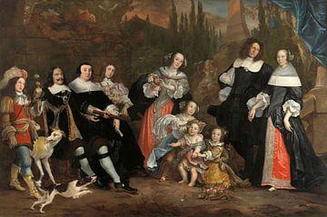 Michiel de Ruyter und seine Familie, Juriaen Jacobsz.