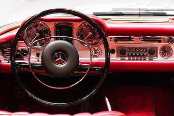 Mercedes Benz W113 280 SL interieur van Dennis van de Water