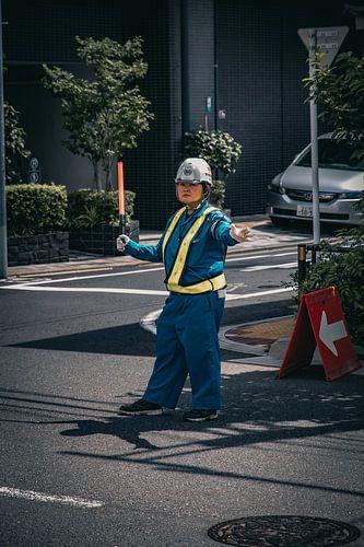 Japanse verkeersleider van Sascha Gorter