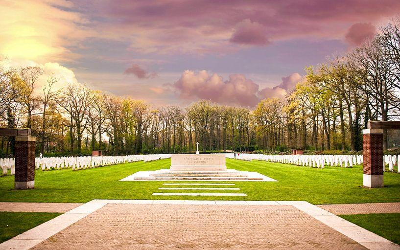 Friedhof des Luftlandekrieges von Brian Morgan