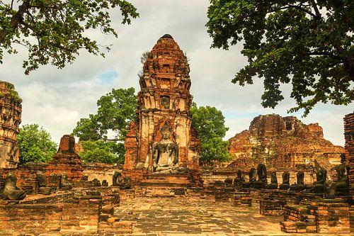 Wat Phra Mahathat tempelcomplex van