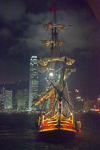 Segelschiff - Hongkong von t.ART