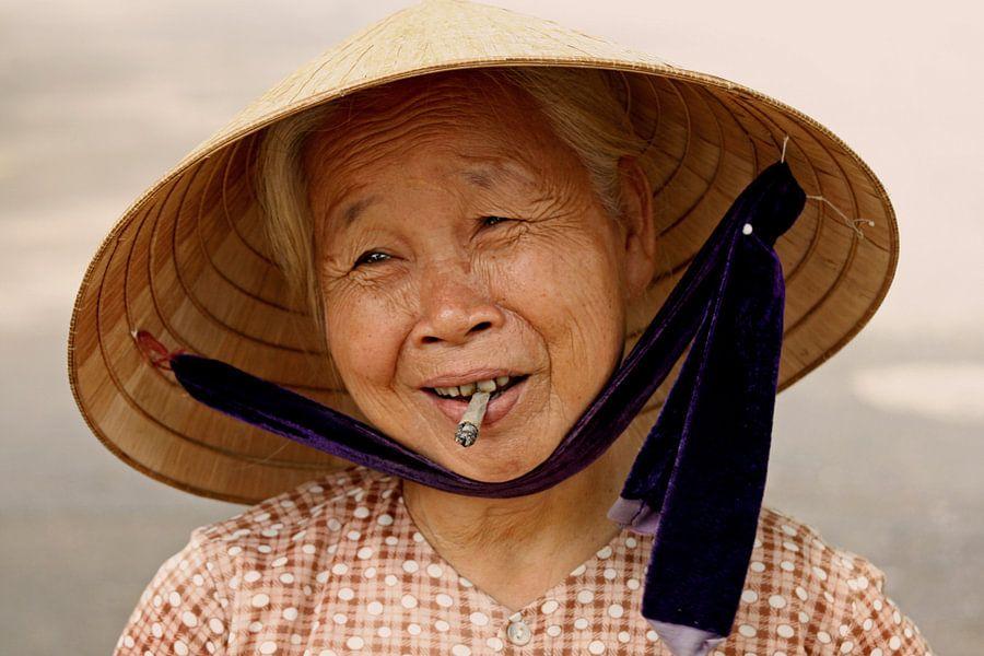 Cigarette Woman