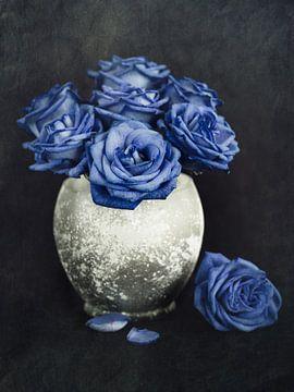 Blaue Rosen von Lorena Cirstea