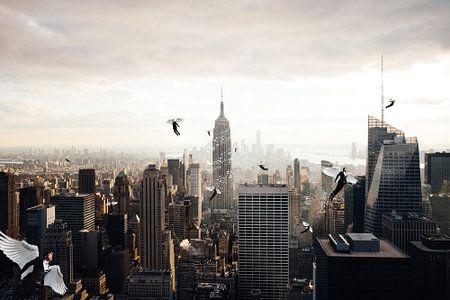 A city full of angel van Felix Neubauer