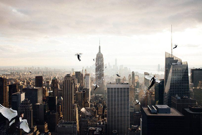 A city full of angel von Felix Neubauer