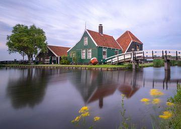 Zaans huisje, Zaanse Schaans Nederland van Michael Kuijl