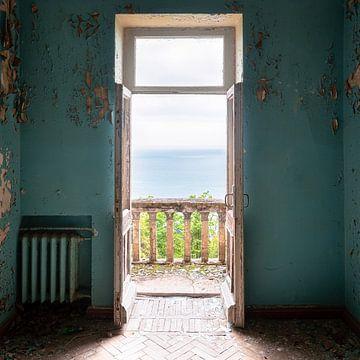 Verlaten Kamer met Prachtig Uitzicht.