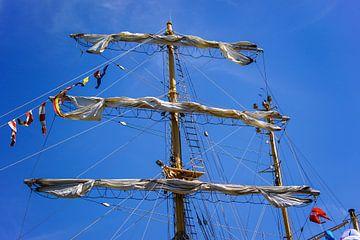 Zeilschip tijdens Sail Amsterdam von Alice Berkien-van Mil