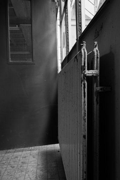 oude radiator van Anita Visschers