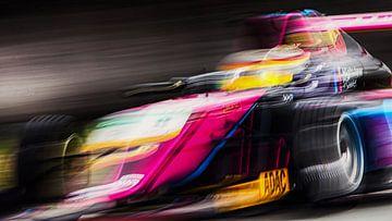 Abstract F4 Adac GT Masters Zandvoort circuit van Stefano Scoop