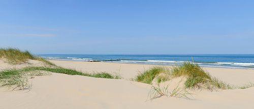 Zomer op het strand aan de Noordzee