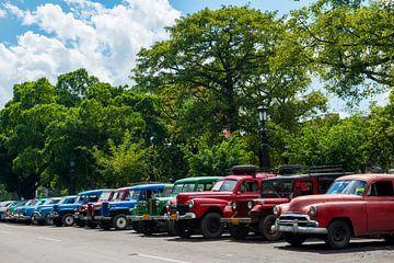 Auto's in Cuba sur Barbara Koppe