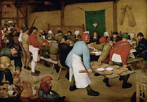 De boerenbruiloft - Pieter Bruegel van
