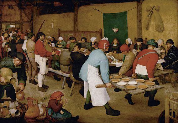 De boerenbruiloft - Pieter Bruegel van Marieke de Koning
