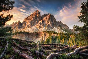 Berglandschaft in den Dolomiten in Südtirol von Fine Art Fotografie