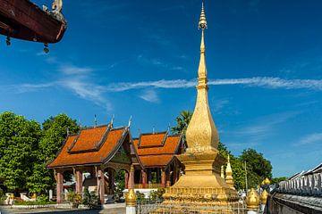 Luang Prabang - Vat Sensoukaram van Theo Molenaar