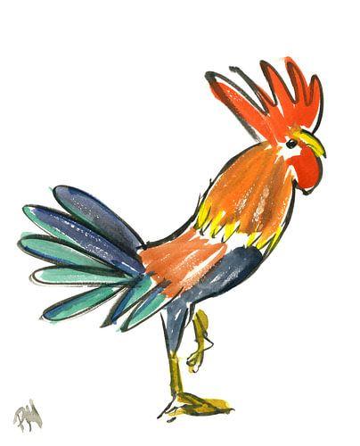 The Rooster von Hans Kool