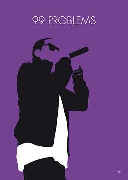 No101 MY Jay-Z Minimal Music poster van Chungkong Art