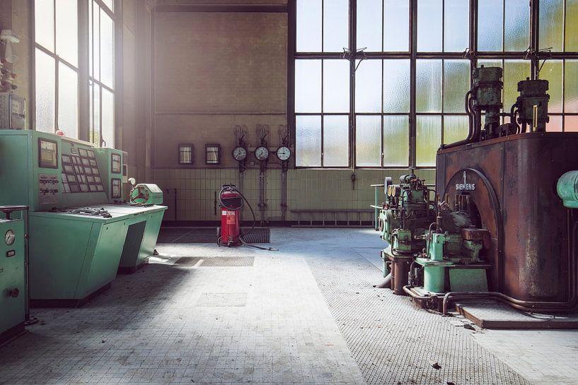 verlaten industrie van Kristof Ven