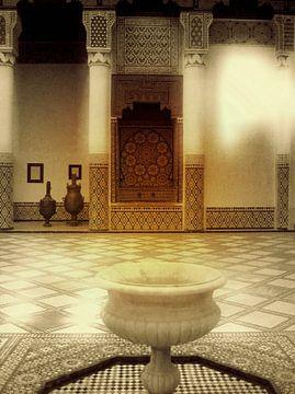 Marrakech Marokko van