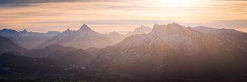 Watzmann en Berchtesgadense Alpen van Martin Wasilewski
