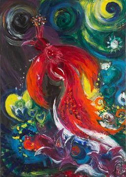 Paradiesvogel von Carmen Eisele