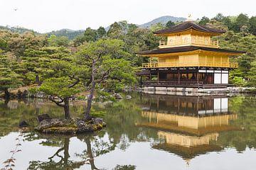 Kinkaku-Ji, Golden Pavillion Koyoto Japan sur Bart van Eijden