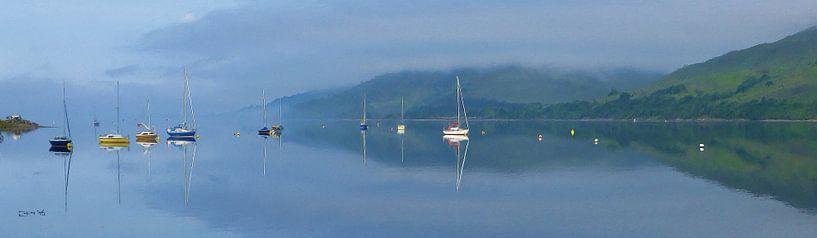 Loch Schottland von Frans Jonker