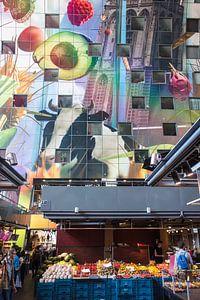 Binnenzijde Markthal Rotterdam