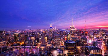 New Yorker Rockefeller-Skyline von Juliette Laurant