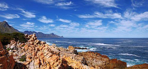 the coastline near Cape Town South Africa van