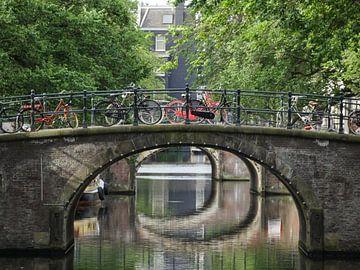 De rode fiets van Odette Kleeblatt