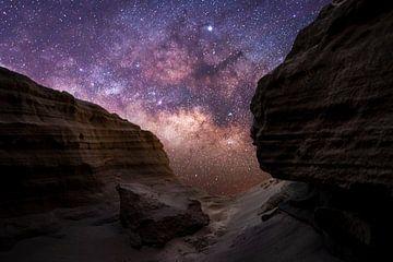 Melkwegcompositie in Fuerteventura van Christian Klös