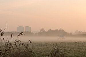 Arnhem in de mist