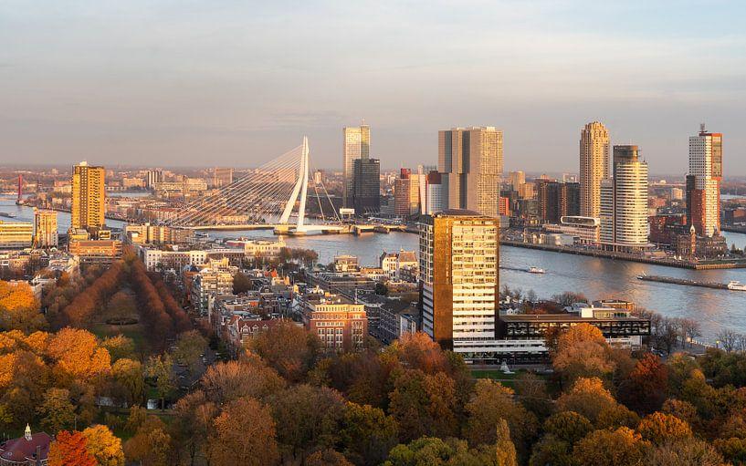 Herfst in Rotterdam van Jeroen Kleiberg