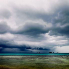 Upcoming rainshower sur Monique Simons