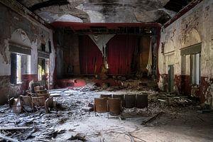 Verlassenes Theater.