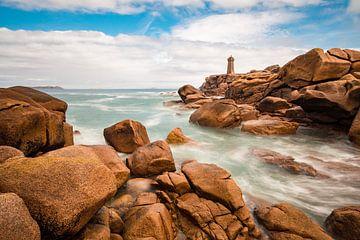 Lighthouse in the Brittany van Rico Ködder