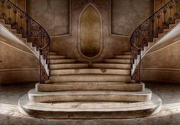 Halle mit Artdeco-Treppe von Marcel van Balken