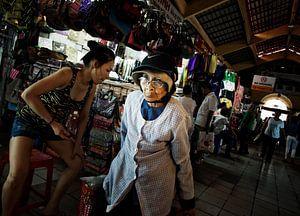 Markt in Vietnam van