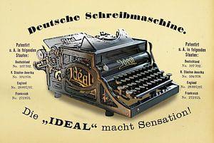 Schreibmaschine Ideal Modell A van