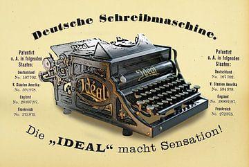 Schreibmaschine Ideal Modell A von Ingo Rasch