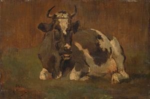 Liggende koe - Anton Mauve