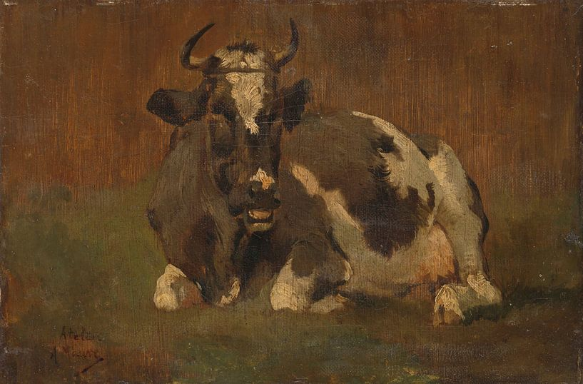 Liggende koe - Anton Mauve van Marieke de Koning